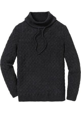 Acquista Authentic Pullover a collo alto con trecce regular fit