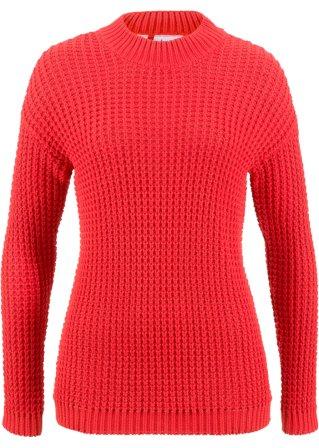 grandi risparmi Pullover in maglia a grana grossa