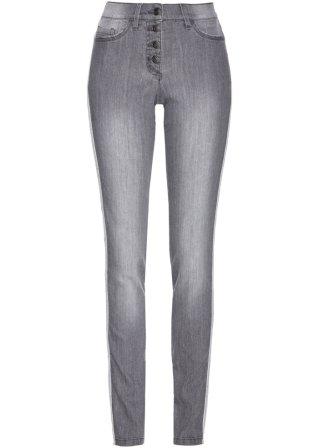 Jeans con bande laterali