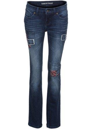Vendita Online Jeans straight con toppe