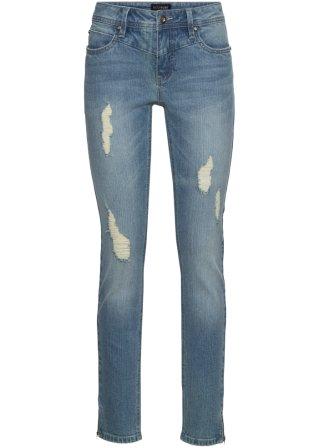 Jeans elasticizzati alla caviglia