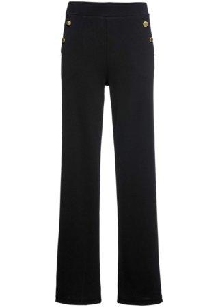 Pantalone ampio con bottoni