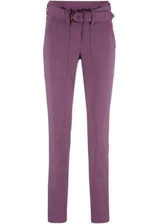 100% Autentico Pantalone con cintura in tessuto slim fit