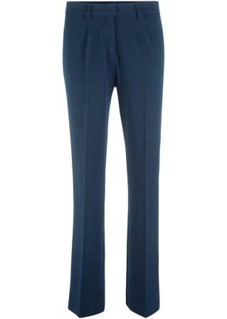Pantaloni con pinces e cinta confortevole bootcut