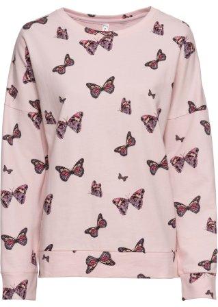Felpa con farfalle