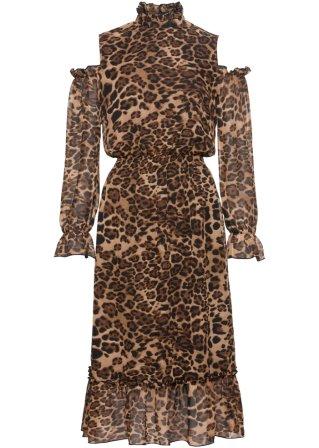 trasporta Abito leopardato