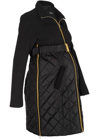 Cappotto prémaman in simil lana