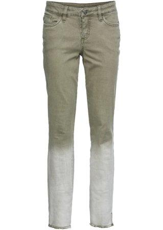 Pantalone skinny sfumato