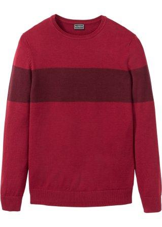 Prezzo abbordabile Pullover con fasce a contrasto