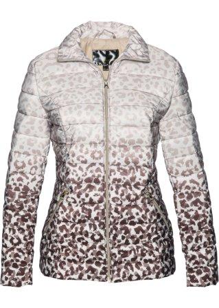 Piumino leopardato