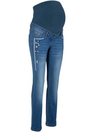 Jeans prémaman con ricami
