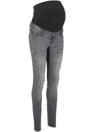 Jeans prémaman con perle