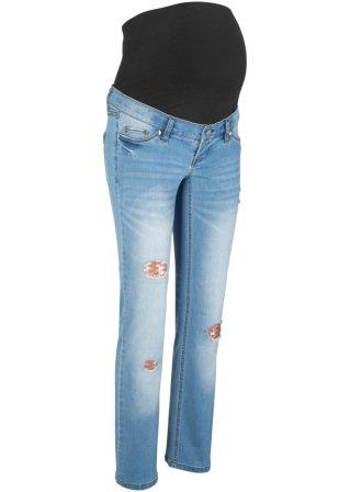 Jeans prémaman con paillettes