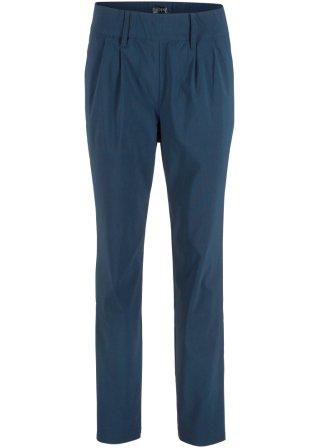 Progettato Pantalone in bengalina effetto snellente con elastico