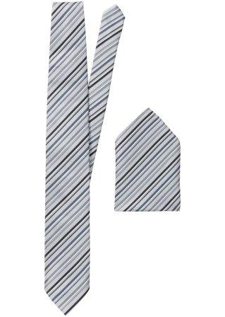 Cravatta + pochette (set 2 pezzi)
