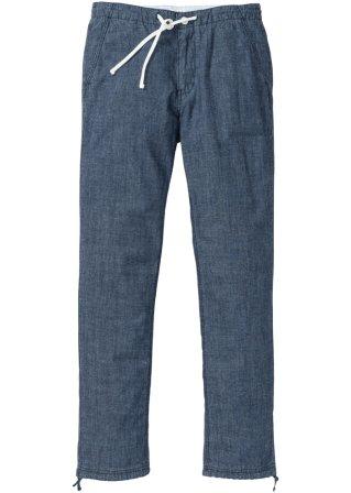 Favorevolmente Pantalone chino in chambray regular fit