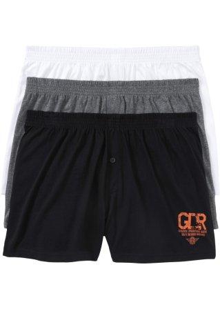 Boxer largo in jersey (pacco da 3)