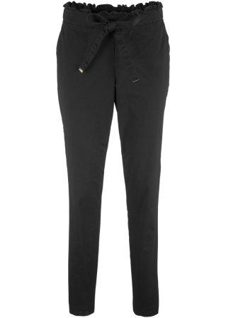 Pantalone in tessuto con cinta elastica
