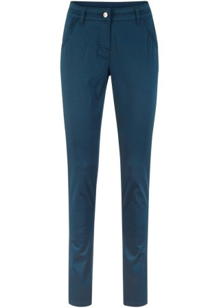Pantalone chino con pizzo slim fit