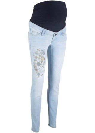 Jeans prémaman con stampa