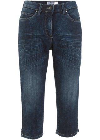 Perfetto Pinocchietto di jeans elasticizzato in look usato