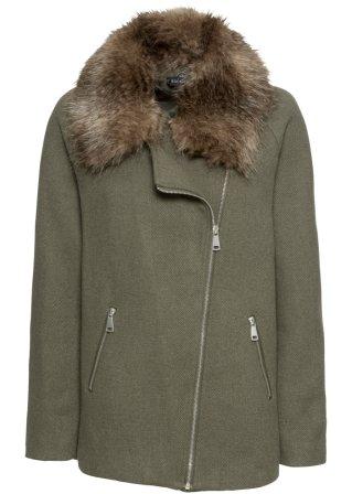 Alla moda Giacca in misto lana