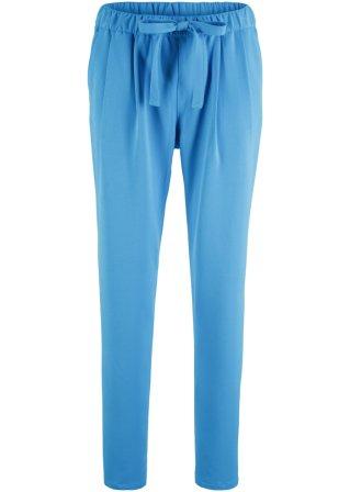 Pantalone in viscosa con cintura da annodare