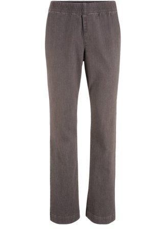 Jeans elasticizzati con elastico in vita bootcut