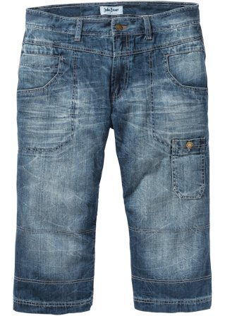 Jeans 3/4 regular fit straight