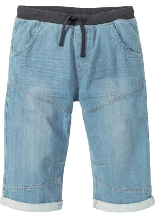 Bermuda lunghi in jeans loose fit