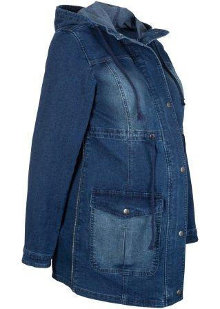 Grazioso Parka prémaman in jeans