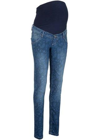 Jeans prémaman morbido in fantasia SLIM