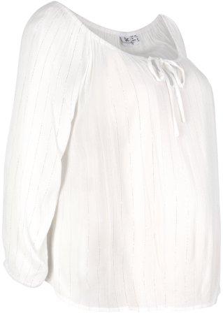 Super Sale Blusa prémaman in tessuto stropicciato