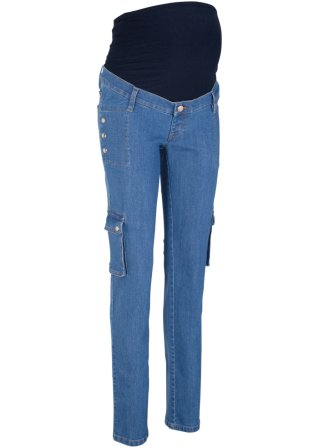 Jeans prémaman in stile cargo STRAIGHT