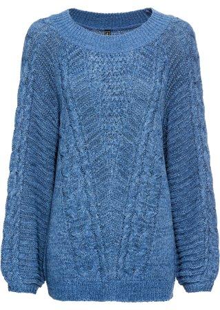Pullover oversize a maglia grossa