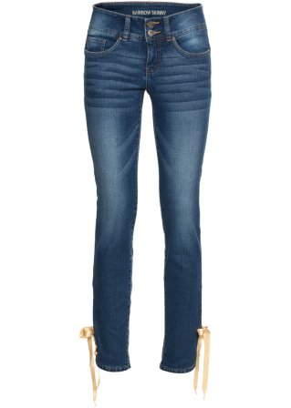 Jeans skinny corto effetto push-up