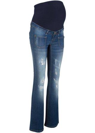 Jeans prémaman a zampa