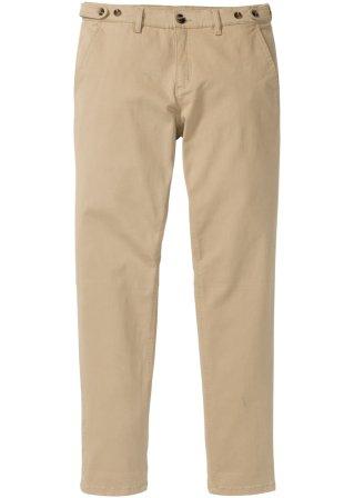 Eccellente Pantalone chino elasticizzato regular fit tapered
