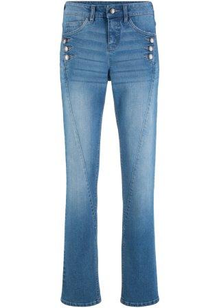 Jeans elasticizzato con bottoni Authentik STRAIGHT