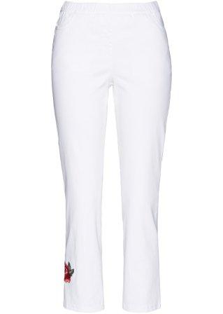 Acquista ora Pantalone senza chiusura con applicazioni