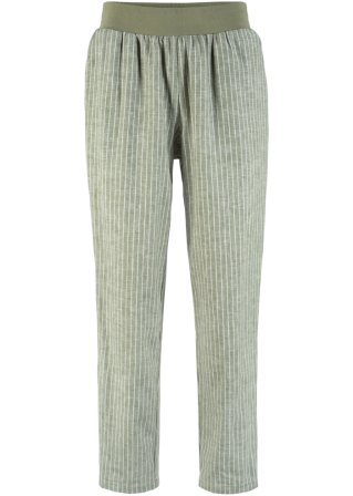 Classico-Fit Pantaloni in misto lino Maite Kelly