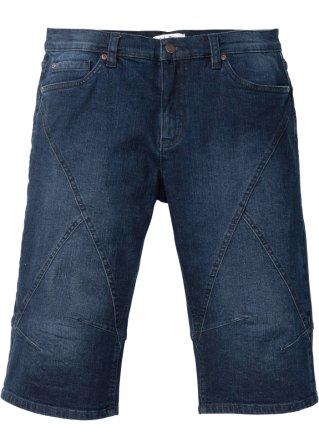 Vendita all'ingrosso Bermuda lungo in jeans elasticizzato regular fit