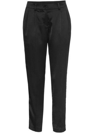 Vendita all'ingrosso Pantalone in satin 7/8 con pinces