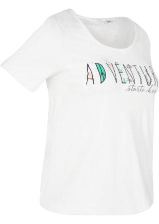 T-shirt sportiva con elastico al fondo