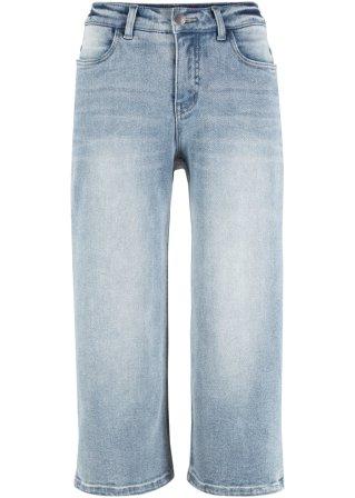 Culotte di jeans in denim classico