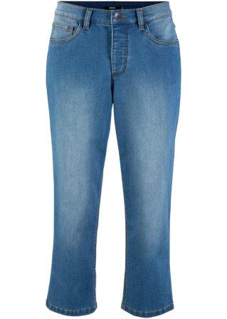 Jeans 3/4 in poliestere riciclato sostenibile