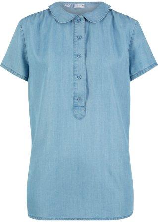 Blusa in lyocell sostenibile