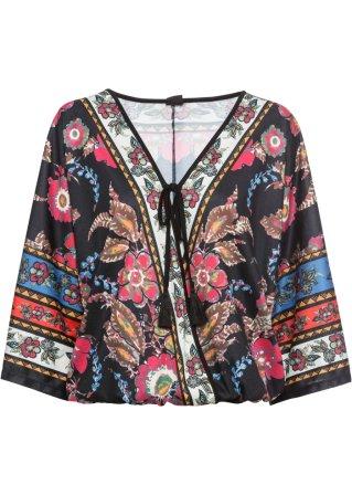 Maglia in stile kimono
