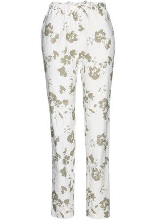 vendita fabbrica Pantalone in misto lino fantasia