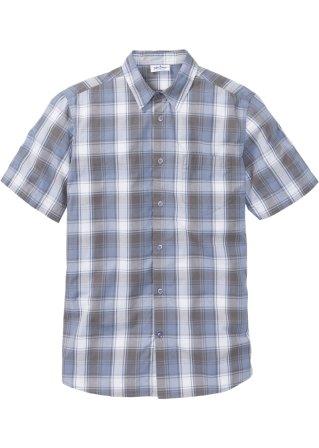 Progettato Camicia a manica corta dal taglio speciale per la pancia
